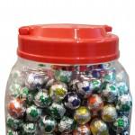 Product Code - 7101 Description - LA CHOCO : Football  Packing - 3g x 300pcs x12 jar