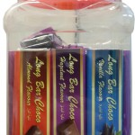 Product Code - 7103 Description - LA CHOCO :  Long Bar   Packing - 13g x 75pcs x 12 jar