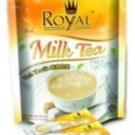 Product Code - 1526 Description - ROYAL INSTANT DRINKS :  Milk Tea Packing - 40g x15sachets x 24pchs