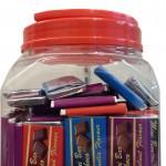 Product Code - 7104 Description - LA CHOCO :  Mini Bar   Packing - 5.5g x 120pcs x 12jar