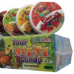 Product Code - 7110 Description - CANDY :  SOUR MINI CANDY  Packing - 12pcs X 12pkts